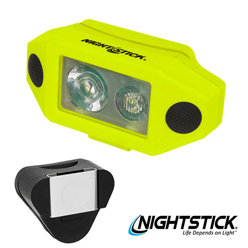 Nightstick XPP5460GCX Intrinsically Safe Headlamp with Hard Hat Clip