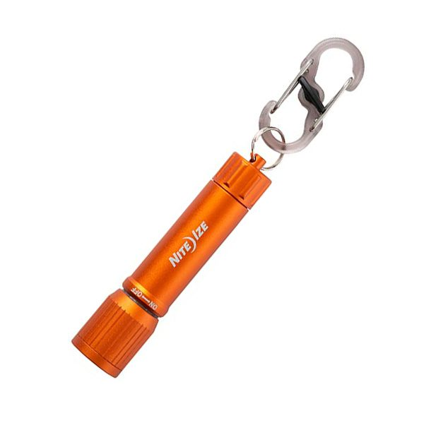 Nite Ize Radiant 100 Keychain Flashlight orange