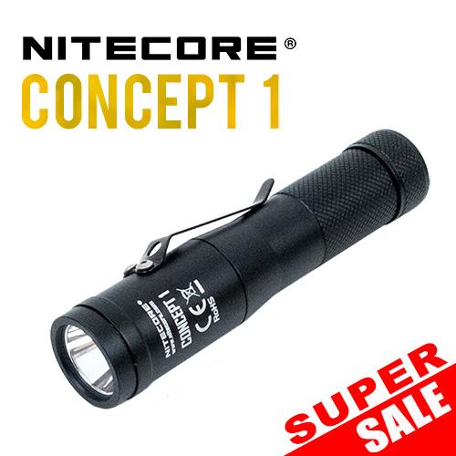 Nitecore Concept 1 Flashlight - super sale