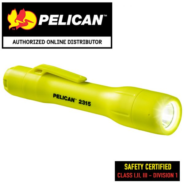 Pelican 2315 Safety Certified AA Flashlight