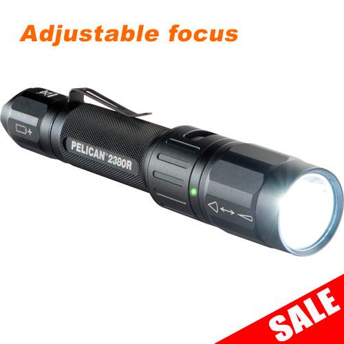 Pelican 2380R Adjustable Focus Flashlight