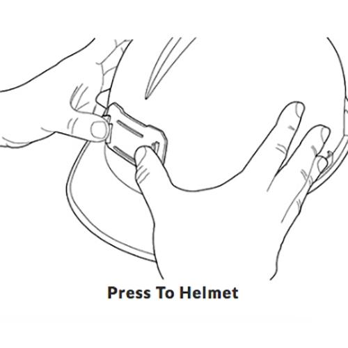 Pelican 2748 Strapless Headlamp Adapter Bracket