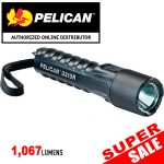 Pelican 3310R Rechargeable Flashlight Black