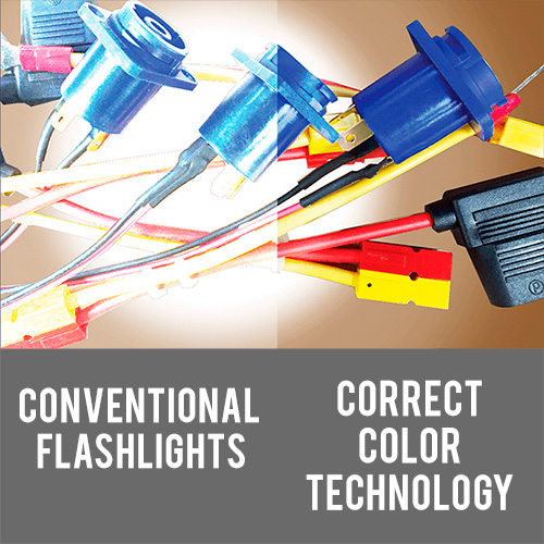 Pelican Correct Color Technology