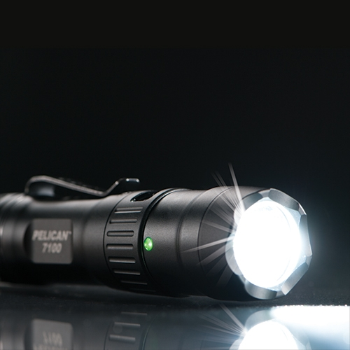 Pelican 7100 Rechargeable Tactical Flashlight