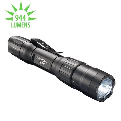 Pelican 7600 Multi-Color USB Rechargeable Flashlight