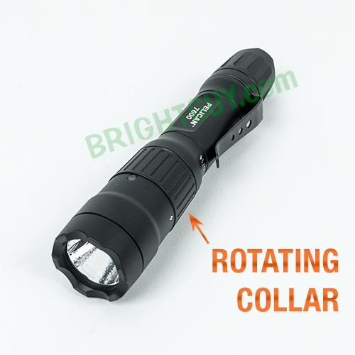 Pelican 7600 Multi-Color USB Rechargeable Flashlight