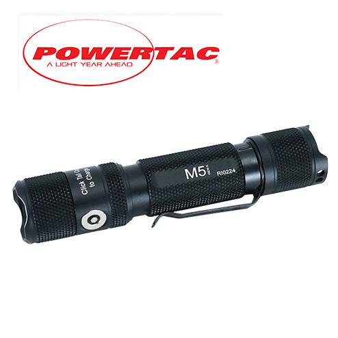 Powertac M5 Flashlight