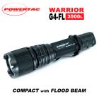 Powertac Warrior G4FL Flood Beam Tactical Flashlight