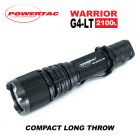 Powertac Warrior G4LT Long Throw Tactical Flashlight