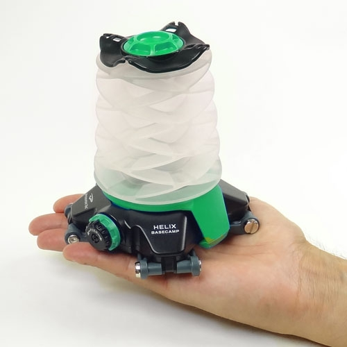 Princeton Tec Helix Basecamp Rechargeable Lantern HX3-GN