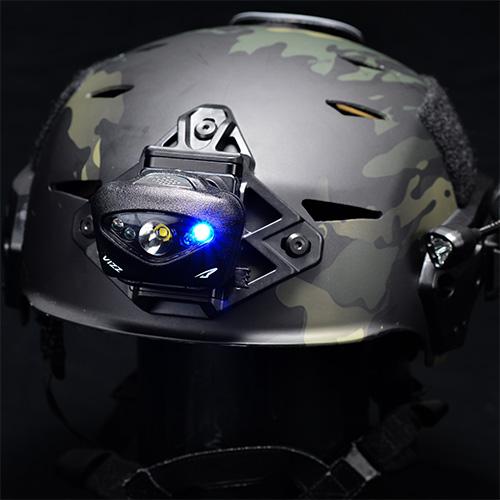 Princeton Tec VIZZ-TAC-BK Vizz Tactical Headband