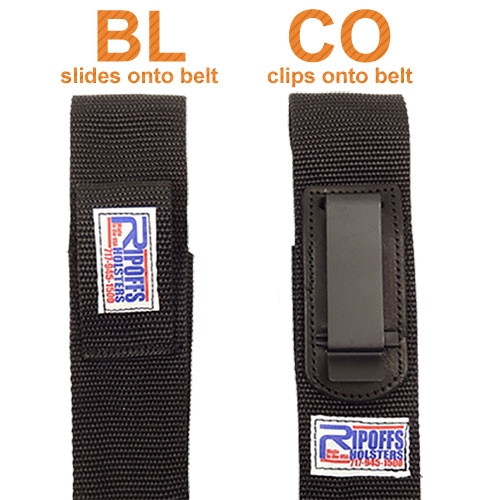 Ripoffs Holster BL218UK and CO218UK
