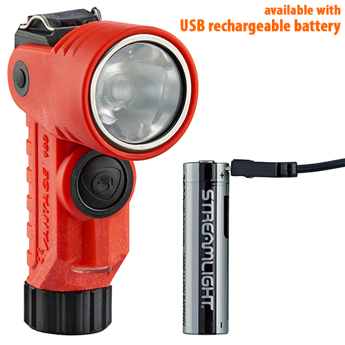 Streamlight Vantage 180 X with rechargeable battery