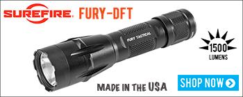 New SureFire Fury-DFT Dual Fuel Tactical Flashlight