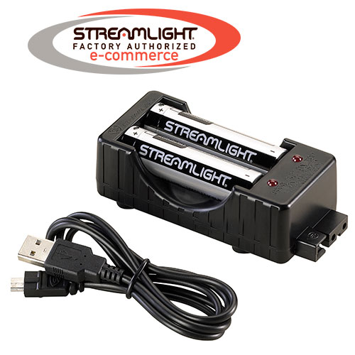 Streamlight 18650 Charger Kit with Batteries