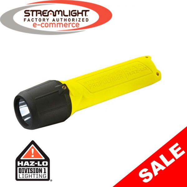 Streamlight 3AA ProPolymer HAZ-LO Intrinsically Safe Flashlight