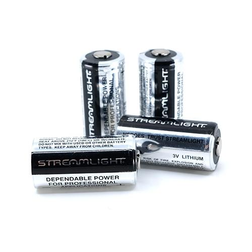 Streamlight 3V Lithium Battery 4 Pack