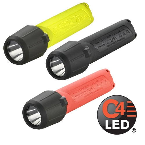 Streamlight 4AA ProPolymax Flashlight