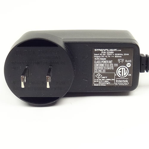 Streamlight AC Charger Cord 22060