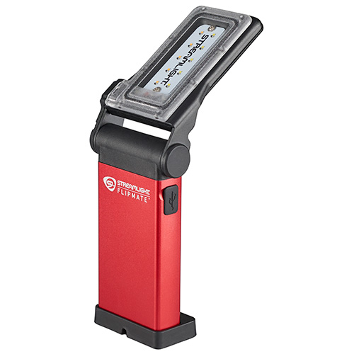 Streamlight Flipmate Compact Rechargeable Work Light Red