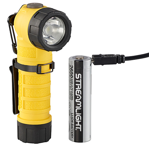 Streamlight PolyTac 90X Multi Fuel Flashlight USB yellow