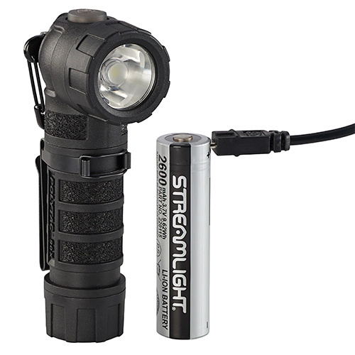 Streamlight PolyTac 90X Multi Fuel Flashlight USB black