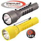 Streamlight PolyTac LED HP Tactical Flashlight - choose black or yellow