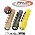 Streamlight PolyTac Tactical Flashlight, 275 lumen model