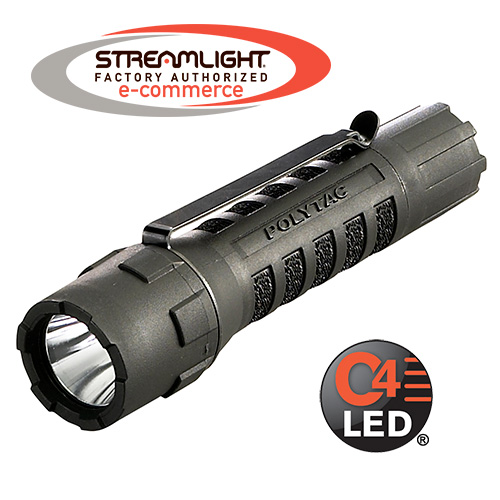 Streamlight PolyTac Tactical Flashlight - choose black, yellow or tan