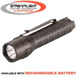 Streamlight PolyTac X - available with rechargeable battery