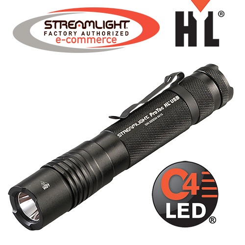 Streamlight ProTac HL USB Flashlight, 1,000 Lumens