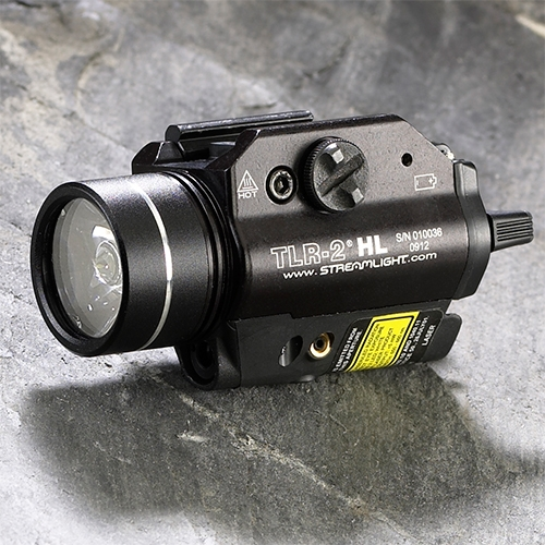 Streamlight TLR-2 HL Weapon Mount Flashlight with Laser