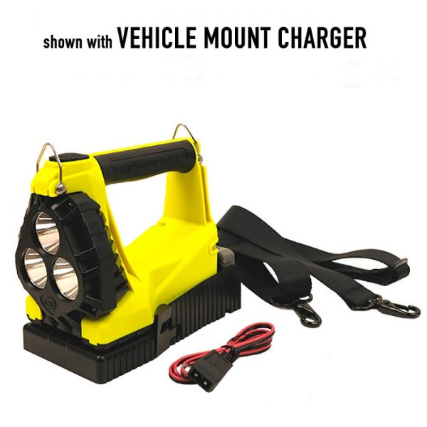 Streamlight Vulcan 180 HAZ-LO Intrinsically Safe Rechargeable Lantern yellow vehicle mount