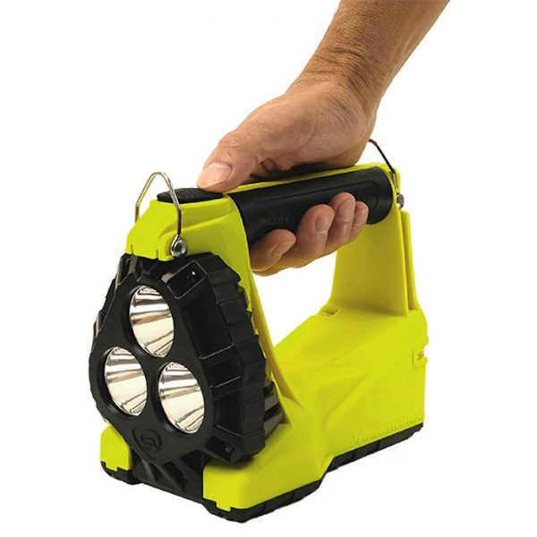 Streamlight Vulcan 180 HAZ-LO Intrinsically Safe Rechargeable Lantern in hand