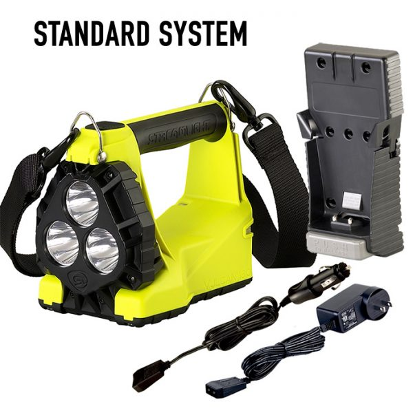 Streamlight Vulcan 180 HAZ-LO Intrinsically Safe Rechargeable Lantern Yellow Standard System