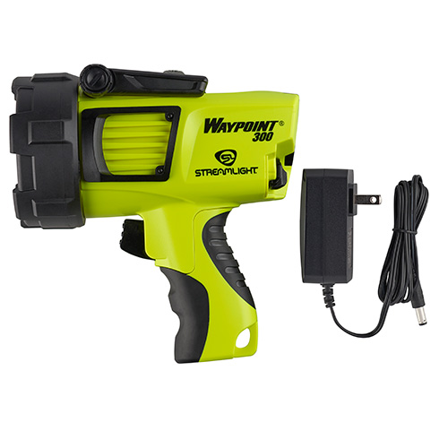 Streamlight Waypoint 300 Rechargeable Spotlight yellow