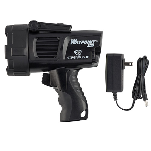 Streamlight Waypoint 300 Rechargeable Spotlight black