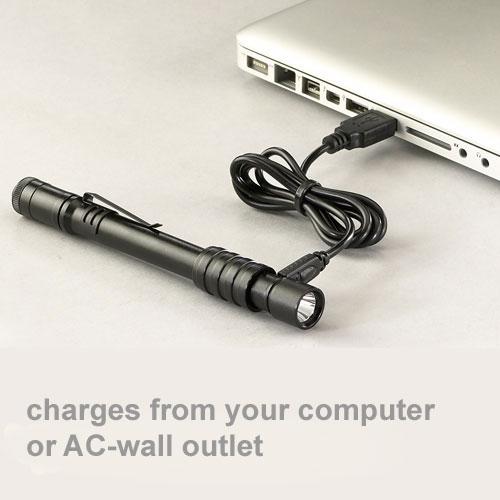 Stylus PRO USB Rechargeable Penlight