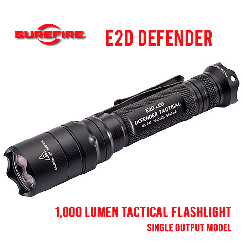 Surefire E2D Defender Tactical LED Flashlight