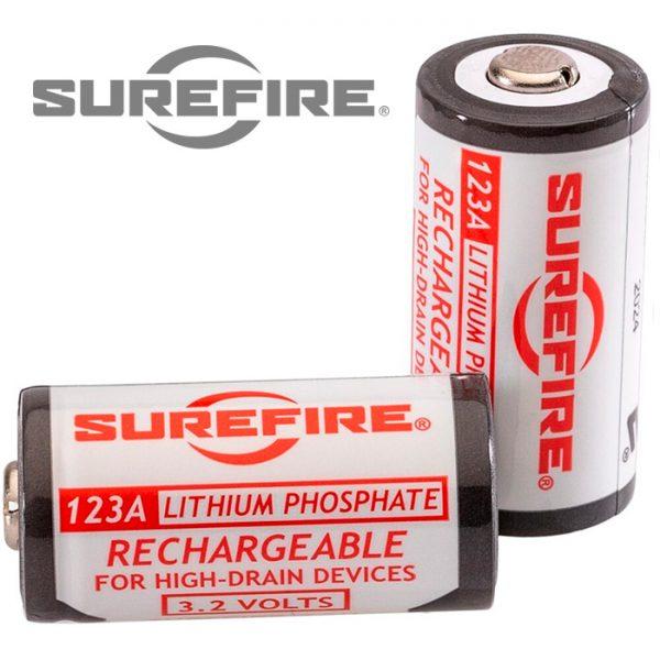 Surefire 123A Rechargeable Batteries