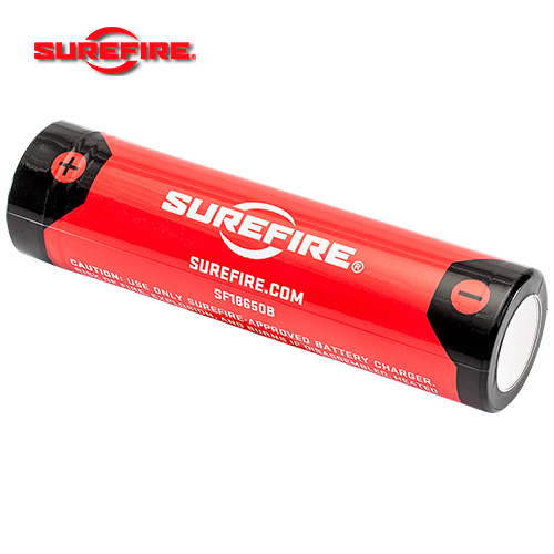 Surefire 18650 USB battery with USB cable