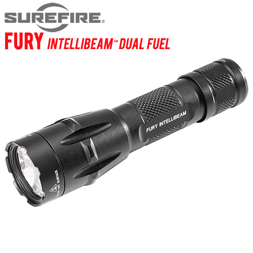 Surefire Fury Dual Fuel IntelliBeam Flashlight