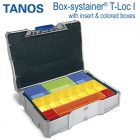 Tanos Box systainer T-Loc I with insert
