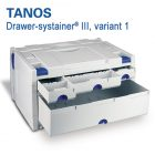 Tanos Drawer-systainer III Variant 1