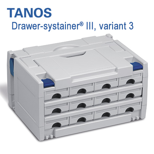 Tanos Drawer-systainer III Variant 3