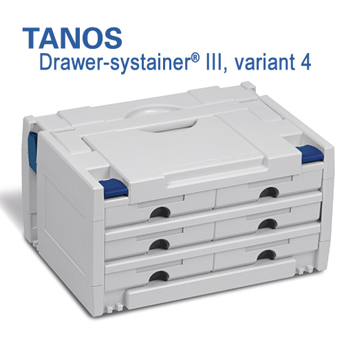 Tanos Drawer-systainer III variant 4