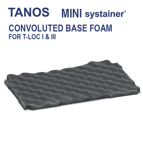 Tanos Mini systainer Base Foam