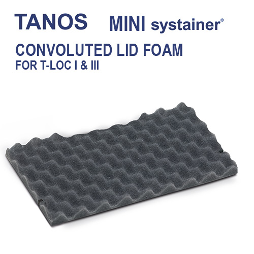 Tanos Mini systainer Lid foam