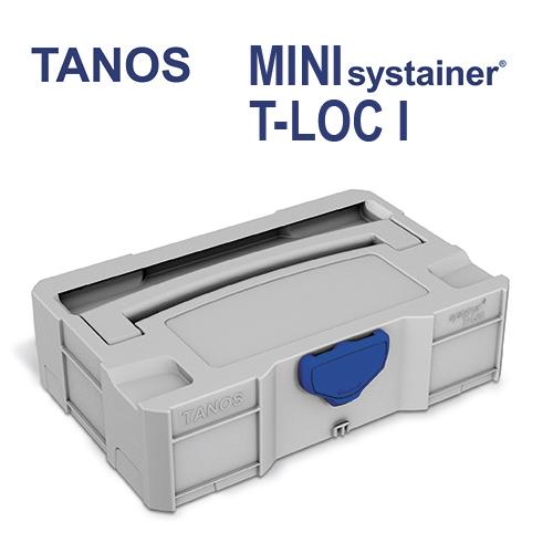 Tanos Mini systainer T-Loc I